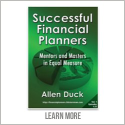 Successful Financial Planners Book by Allen Duck